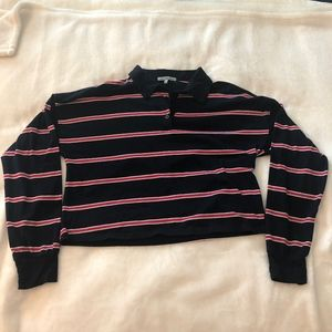 Charlotte Russe   Cropped Polo   Size: S